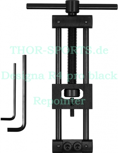 Designa R4 pro Repointer black Hand Held Repointing Tool Spitzen - Wechsler