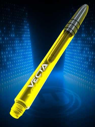 Winmau Shafts Vecta yellow short Schäfte gelb