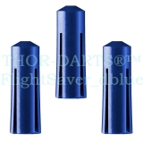 1 Set (3 Stück) dunkelblaue Darts Flightschoner / Flight Protektoren DSFP1 Protector Schutz Flights Defender Fly Saver