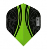 grüne Pentathlon Vizion Swish Extra Strong 100 Micron Flights 1 Set (3 Stück)
