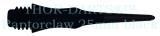 30 THOR-DARTS Raptorclaw Softdart-Wechselspitzen schwarz 25mm (+ 2ba Gewinde) ultra haltbar 0,24g/Stück