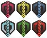 30 THOR-DARTS HD280 F1 Standard Flights mixed colors - Extra Stark - 150 Micron - gemischte Farben