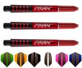 Winmau Prism Force medium rot 1 Set (3 Stück)