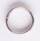 Federringe silber - für Nylon- PVC- Plasteschäfte - 1 Set (3 Stück) silber